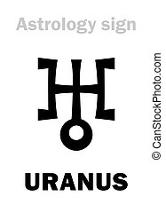 Astrology: planet URANUS - Astrology Alphabet: URANUS,...