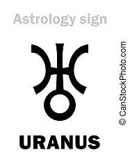 Astrology: planet URANUS