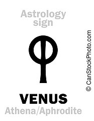 Astrology: planet VENUS