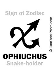 Astrology: Sign of Zodiac OPHIUCHUS (The Snake-holder) -...