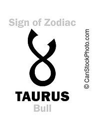 Astrology: Sign of Zodiac TAURUS (The Bull)