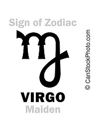 Astrology: Sign of Zodiac VIRGO (The Maiden)