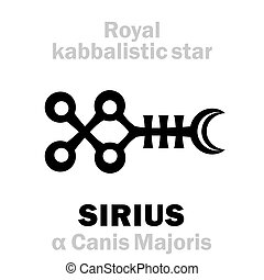 Astrology: SIRIUS kabbalistic star
