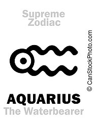 Astrology: Supreme Zodiac: AQUARIUS (The Waterbearer) -...