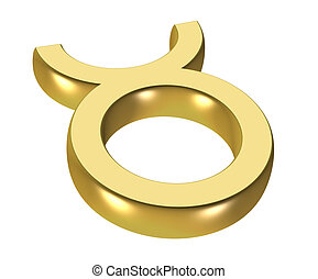 astrology symbol - gold astrology icon symbol - computer...