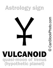 Astrology: VULCANOID (satellite)
