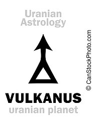 Astrology: VULKANUS (uranian planet)