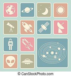 astromomie, icône