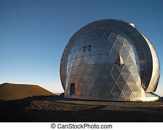 astronómico, observatorio, -, hawai, estados unidos de ...