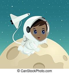 Astronaut Cartoon
