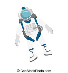 astronaut in space character