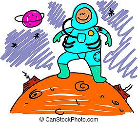 astronaut kid - i want to be an astronaut when i grow up - ...