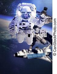 astronauta, espacio