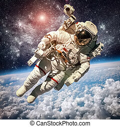 astronauta, zewnętrzna przestrzeń