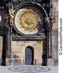 Astronomical clock detail - Prague sights