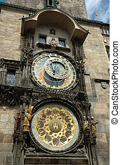Astronomical clock in Prague or Prague Orloj