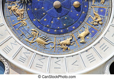 Astronomical clock of Venice - The astronomical clock of St....