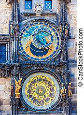 Astronomical Clock. Prague. Czech Republic