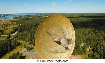 Astronomical observatory in the forest - Radio astronomy...