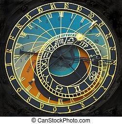 astronomický píchat