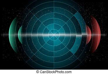 astronomie, grafické pozadí
