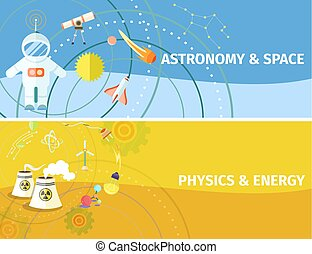 Astronomy and Space, Physics and Energy Poster