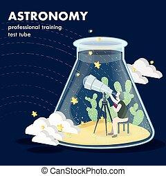 astronomy concept