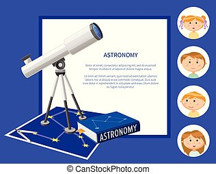 Astronomy Subject at School Discipline and Kids