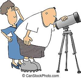 astronoom, amateur
