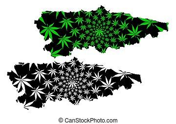 Asturias (Kingdom of Spain, Autonomous community) map is...