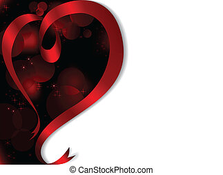 asymmetric background with heart
