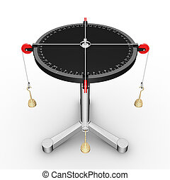 asztal, erőltet