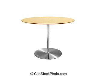 asztal, kerek