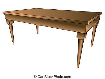 asztal, konyha
