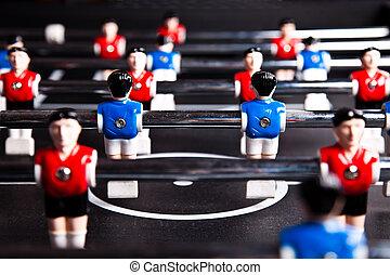 asztal, soccerball