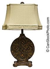 asztali lámpa, árnyék