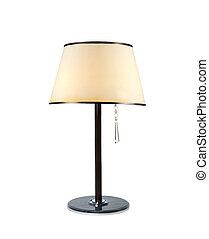 asztali lámpa, elszigetelt