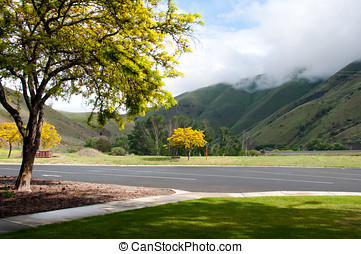 Eastern Oregon - At a quaint rest stop in the Eastern Oregon...