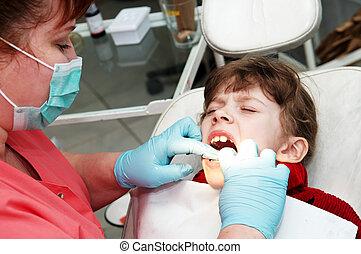at dentist medic orthodontic doctor examination