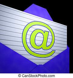 At Envelope Shows Online Mailing Inbox Support