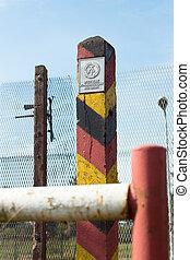 at the former inner German border