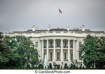 At The White House in Washington DC