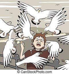 atacado, aves