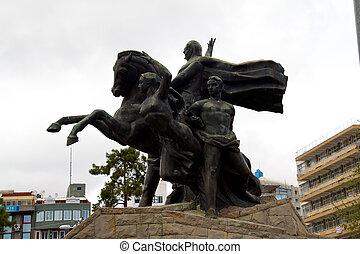 ataturk, den, grundare, av, den, turkisk, republik, har,...