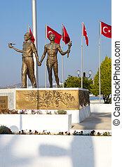ataturk, monument paix