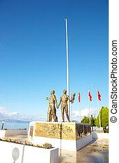 ataturk, monument