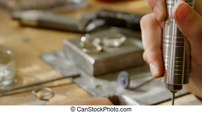 atelier, bijouterie, fonctionnement, 4k, concepteur