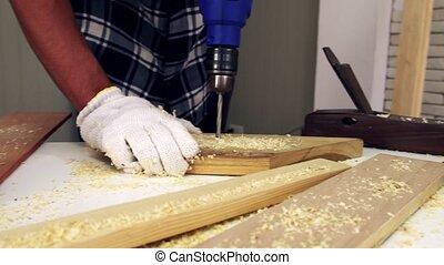 atelier, bois, charpentier, métier, fonctionnement