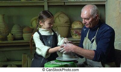 atelier, grand-père