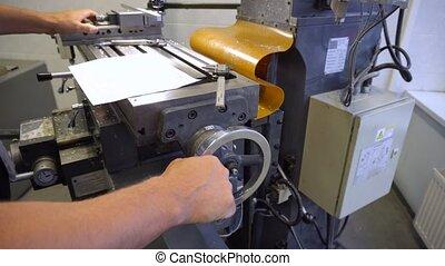 atelier, métal, mécanisme